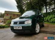 2002 mk4 Golf GT TDI 130 BHP Green 6 Speed Manual Eco Family Car Volkswagen IV for Sale