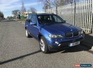 2005 BMW X5 SPORT AUTO BLUE for Sale
