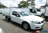 Classic 2010 Ford Falcon FG (LPG) White Automatic 4sp A Cab Chassis for Sale