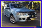 Classic 2010 Ford Territory SY Mkii Ghia Blue Automatic A Wagon for Sale