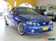 2003 Ford Falcon BA XR6 Blue Automatic 4sp A Utility for Sale