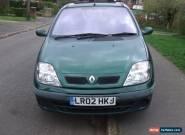 Renault Megane Scenic Expression 1.6 16v petrol for Sale