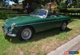 Classic 1966 MGB MK1 Convertible  for Sale