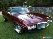 1969 Pontiac Firebird Bronze Gold Interior like Trans Am Camaro GTO for Sale