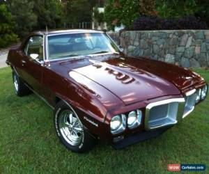 Classic 1969 Pontiac Firebird Bronze Gold Interior like Trans Am Camaro GTO for Sale