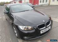 2008 BMW 320I SE COUPE BLACK 65K MILES for Sale