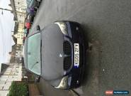 2005 BMW 525D SE BLUE SPAIRS OR REPAIRS STILL IN DAILY USE for Sale