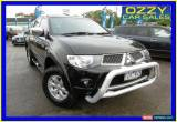 Classic 2012 Mitsubishi Triton MN MY12 GLX-R Black Automatic 5sp A for Sale
