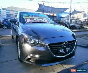 Classic 2014 Mazda 3 BM Maxx Grey Automatic 6sp A Sedan for Sale