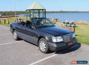 1995 W124 E220 Mercedes Benz Convertible - Nice Car That Needs Some Attention for Sale