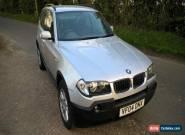 2004 BMW X3 SE 2.5 4X4 - 6 SPEED MANUAL - LONG MOT for Sale