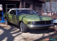 1970 Ford Mustang 2-door convertible for Sale