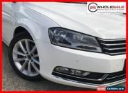 2011 Volkswagen Passat type 3c 125tdi highline sedan dsg 2.0L DT MY11 White A for Sale