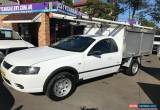 Classic 2006 Ford Falcon BF MkII RTV White Automatic 4sp A Cab Chassis for Sale