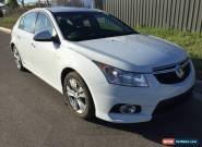2014 Holden Cruze SRI JH II AUTO LOW 26 KMS WHITE TURBO Hatchback LIGHT HAIL for Sale