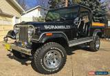 Classic 1981 Jeep CJ 8 Scrambler SL Sport - STOCK ORIGINAL !!! for Sale