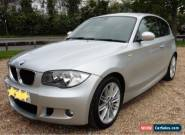 BMW 1 SERIES PETROL STEP AUTO 116i M SPORT BLACK CLOTH LEATHER TRIM 42000 MILES for Sale