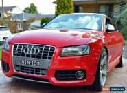 Audi S5 Quattro 4.2L V8 2008 manual 12 months rego for Sale
