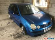 Volkswagen Polo 1.4 2003 Blue 5 Door for Sale