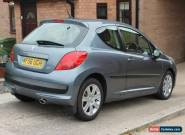 2006 PEUGEOT 207 SPORT HDI 110 GREY for Sale