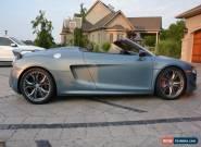 2012 Audi R8 GT Spyder for Sale