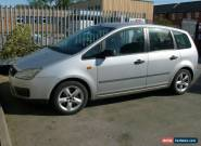 2004 FORD FOCUS C-MAX LX TDCI SILVER for Sale