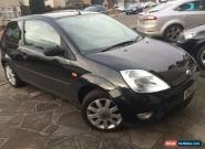 Ford Fiesta 1.4  Black 3dr 2003 FULL LEATHERS TOP SPEC  for Sale