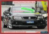 Classic 2009 Holden Commodore VE MY09.5 SS-V Black Automatic 6sp A Utility for Sale