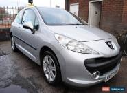 2007 PEUGEOT 207 1.6 SPORT FINISHED IN SILVER for Sale