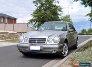 1998 Mercedes Benz E240 Low Milage Sedan for Sale