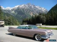 1959 Cadillac 2 Door Coupe Series 62 for Sale