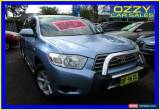 Classic 2008 Toyota Kluger GSU40R KX-R (FWD) 7 Seat Blue Automatic 5sp A Wagon for Sale
