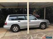 2002 Subaru Forester AWD 5spd Manual for Sale
