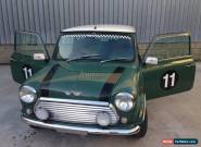 1999 Rover Mini Light Green and white roof and light green leather for Sale