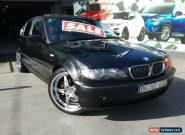 2003 BMW 325I E46 Black Automatic 5sp A Sedan for Sale