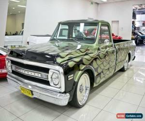 Classic 1970 Chevrolet C10 Green Automatic A Utility for Sale