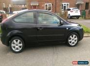Black Ford Focus Sport 1.6 55 Plate for Sale