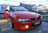 Classic 2006 Holden Commodore VZ MY06 Upgrade SS Thunder Red Automatic 4sp A Utility for Sale