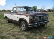 1984 Ford F-150 XLT for Sale