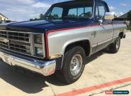 1985 Chevrolet Other Pickups Silverado for Sale