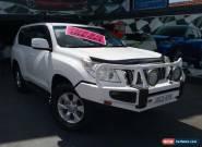2009 Toyota Landcruiser Prado KDJ150R GX (4x4) White Manual 6sp M Wagon for Sale