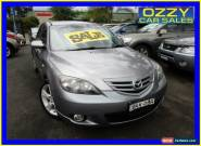 2004 Mazda 3 BK SP23 Silver Automatic 4sp A Hatchback for Sale