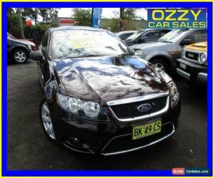 Classic 2009 Ford Falcon FG G6 (LPG) Maroon Automatic 4sp A Sedan for Sale