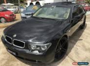 2003 BMW 735i E65 Black Automatic 6sp A Sedan for Sale
