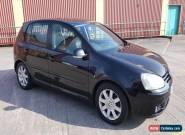 2004 O4 PLATE VOLKSWAGEN GOLF GT TDI BLACK 6 SPEED MANUAL 5 DOOR 142,000 MILES for Sale