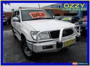 2000 Toyota Landcruiser FZJ105R GXL (4x4) White Manual 5sp M Wagon for Sale
