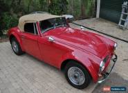 1988 Austin Healey 3000 Maroon Manual 5sp M Convertible for Sale