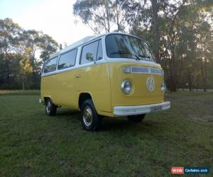 Classic SUNNY 1973 VW VOLKSWAGEN KOMBI POPTOP CAMPERVAN for Sale