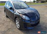 2013 MAZDA 3 HATCH BL NEO 2.0L M  LIGHT DAMAGED REPAIRABLE DRIVES REPAIR for Sale