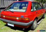 Classic 1982 FORD LASER KA GHIA 1.5L AUTOMATIC RED 5 DOOR HATCH AIR-CONDITIONING UNREG for Sale